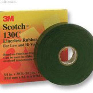 3M Scotch 23 Self Amalgamating Tape 19mm X 9M NBR-23 - BLACK